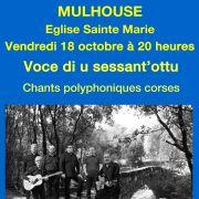 Concert chants polyphoniques corses