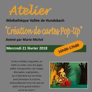 Atelier créatif : Cartes Pop-Up