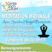 Méditation matinale