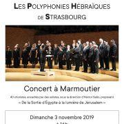 Les Polyphonies Hébraïques de Strasbourg