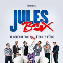 Jules Box : le concert dont vous êtes le héros