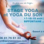 Stage Yoga et Yoga du Son