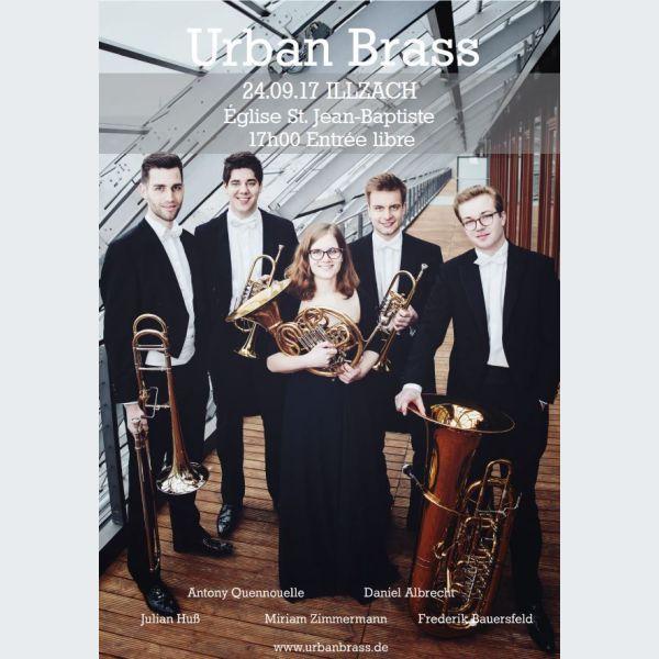 Quintette de cuivres urban brass illzach musique de for Bach musique de chambre