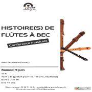 Histoire(s) de flûtes à bec
