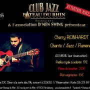Cherry Reinhardt chants jazz flamenco