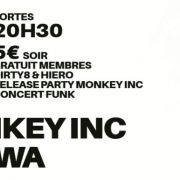 Monkey INC. Release party + Hewa