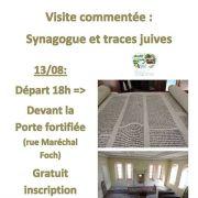 Synagogue et traces juives à Mutzig