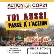 Réunion d\'information à l\'action non-violente