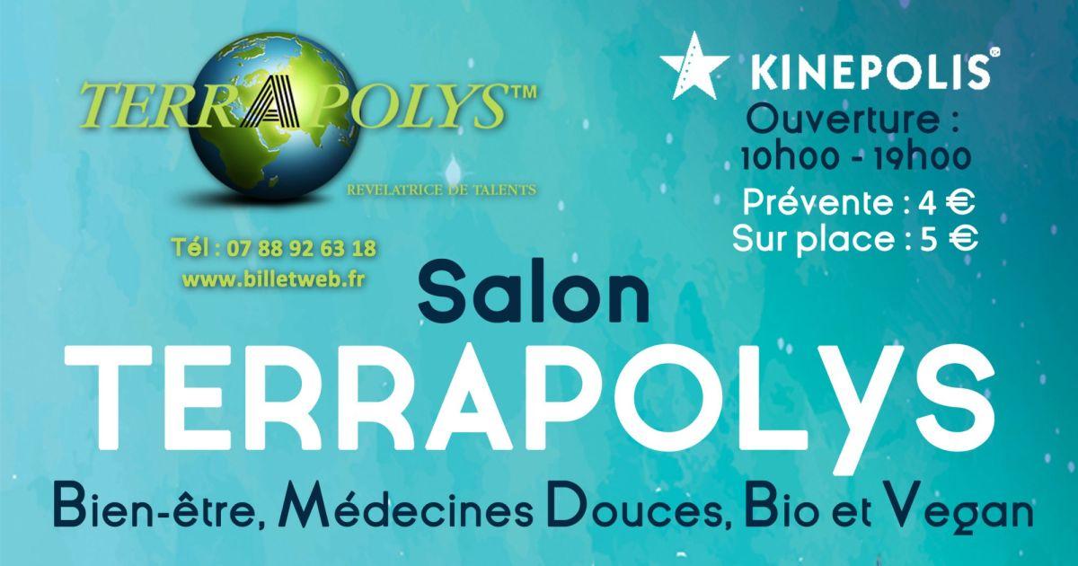 Salon terrapolys festival du bien tre et des m decines for Salon de bien etre
