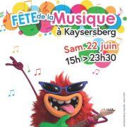 Fête de la musique à Kaysersberg