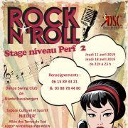 Stage de rock\'n\'roll - niveau Perfectionnement 2