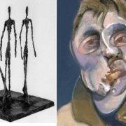 Alberto Giacometti et Françis Bacon