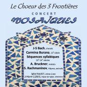 Concert Mosaïques, Choeur des Trois Frontières