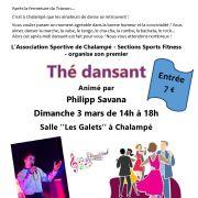 Thé dansant animé par Philipp Savana