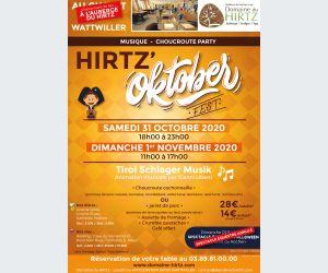 HIRTZ\'Oktoberfest - Musique et Choucroute party au Domaine du HIRTZ
