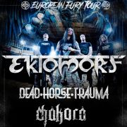 Ektomorf + Dead Horse Trauma + Spit Your Hate