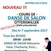 Cours de danse de salon à Otterswiller (région Saverne)