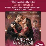 Film indien : Bajirao Mastani