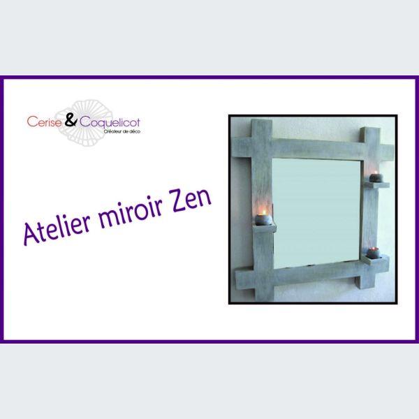 miroir zen epfig atelier cr 233 atif cerise coquelicot