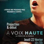 Ciné-Débat : A voix haute - La force de la parole