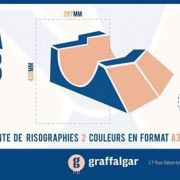 PLAN A3 // Exposition & vente de risographies A3