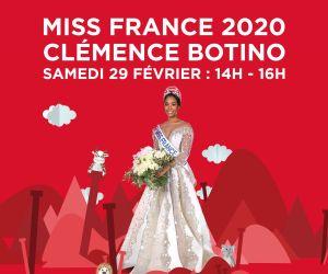 Séance de dédicaces de Miss France 2020