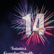 Festivités du 14 juillet à Kaysersberg Vignoble