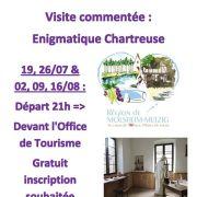 Visite : énigmatique Chartreuse