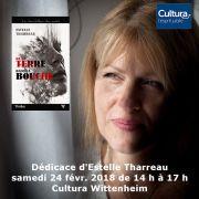 Dédicace d\'Estelle Tharreau à Wittenheim
