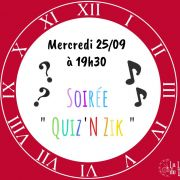 Soirée Quiz\'n Zik