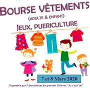 Bourse aux vêtements, articles de puériculture et jouets
