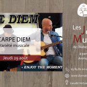 Soirée musicale au Domaine du Hirtz avec le groupe Carpe Diem