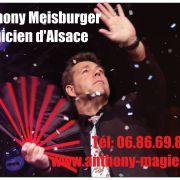 Dîner Spectacle avec Anthony Meisburger Magicien d\'Alsace