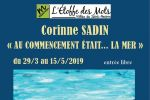 vernissage de l'exposition corinne sadin