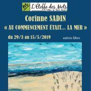Vernissage de l\'exposition Corinne Sadin