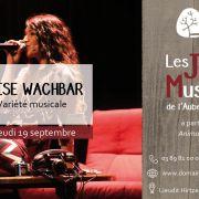 Soirée musicale au Domaine du HIRTZ avec Elise Wachbar