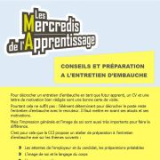 Mercredi de l\'Apprentissage