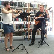 Carte blanche à Claire & Norbert - Duo violon-guitare