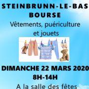 Bourse Vêtements, Puériculture, Jeux / Jouets