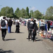 Marché aux puces à Strasbourg Cronenbourg 2021