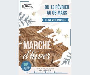 Marché d\'hiver à La Bresse