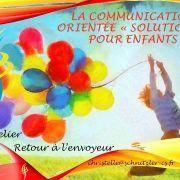 Réunion d\'information : Atelier Communication Orientée « solutions » pour enfant