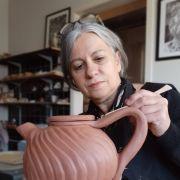 Visite d\'Atelier de Céramique, Expositions Céramiques, Peinture et Sérigraphies