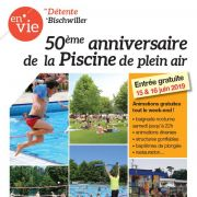 50ème anniversaire de la piscine de Bischwiller