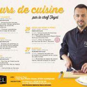 Envie de participer à un cours de cuisine avec le Chef Feyel ?