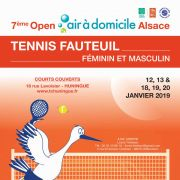 Open Air à domicile Alsace Tennis Fauteuil