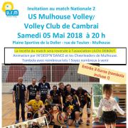 US Mulhouse Volley  - Cambrai