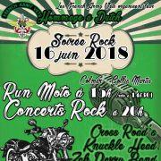 Run Moto et Soirée rock