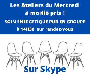 Ateliers du Mercredi à Moitié Prix SKYPE !
