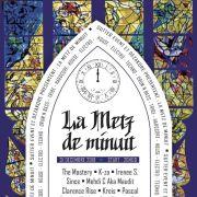 Réveillon du Nouvel an 2018-2019 à Moulins-lès-Metz - Le Hangar : Metz de Minuit